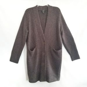 Mossimo Wool Blend Cardigan Sweater Duster length
